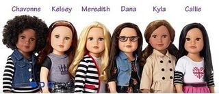 Comparatif anciens et nouveaux modèles Jouney GIrls : Meredith, Chavonne, Callie, Kyla - mise à jour 10/12 ♥ 2014_a11