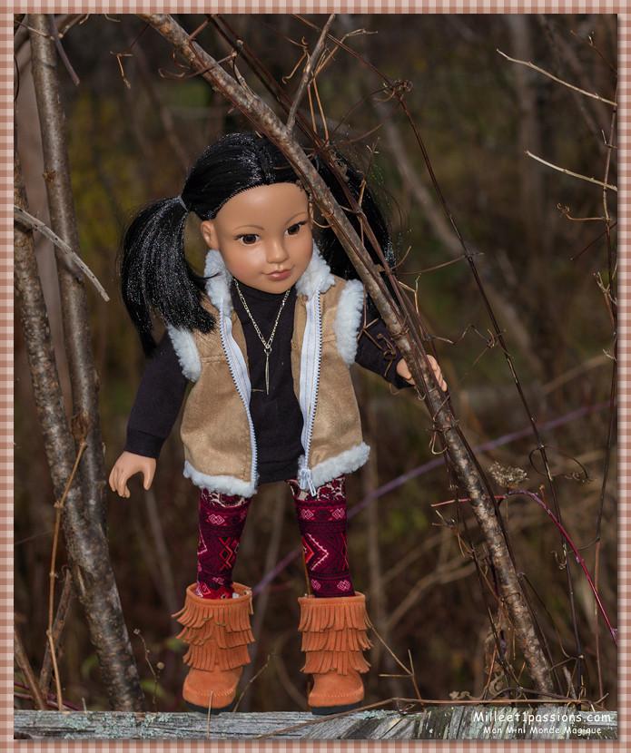 Mes poupées au Canada/USA : 25/06 - p.36   (nettoyage de voiture, balade et question, robe amérindienne, esquimau glacé) - Page 6 Img_0510