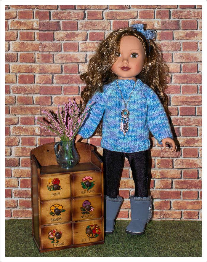 Mes poupées au Canada/USA : 25/06 - p.36   (nettoyage de voiture, balade et question, robe amérindienne, esquimau glacé) - Page 34 Img_4312