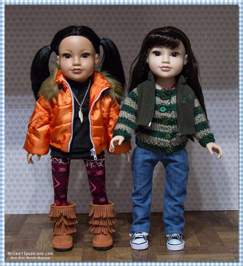 Comparatif anciens et nouveaux modèles Jouney GIrls : Meredith, Chavonne, Callie, Kyla - mise à jour 10/12 ♥ Img_7914