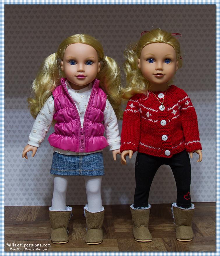 Comparatif anciens et nouveaux modèles Jouney GIrls : Meredith, Chavonne, Callie, Kyla - mise à jour 10/12 ♥ Img_7915