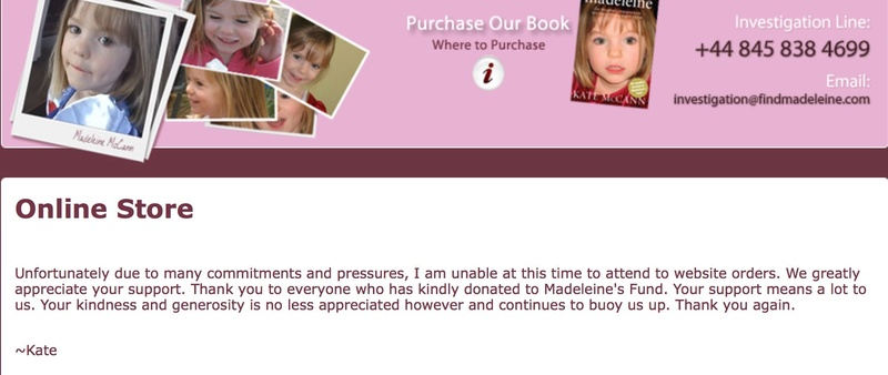 Kandohla: Kate McCann closes down online shop raising funds for the search to find Madeleine amid claims donations 'have dwindled to virtually zero' Img_2011