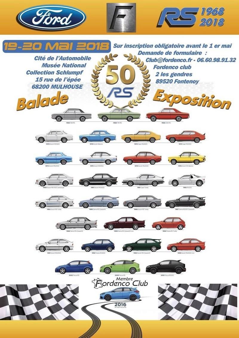 50ans ESCORT et expo  gamme RS Big-6910