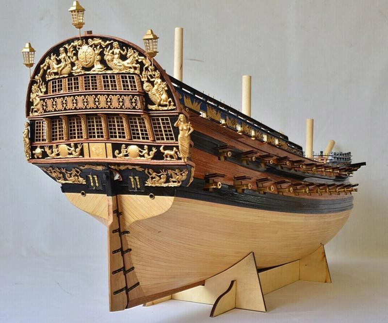 Sovereign Of The Seas XVII ème siècle de Sergal Mantua.  - Page 37 Htb1ui10