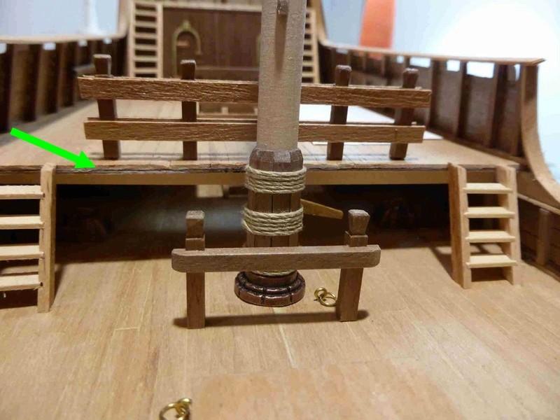 Construction du Santa Maria au 1/65 d'AMATI - Page 6 P1020110
