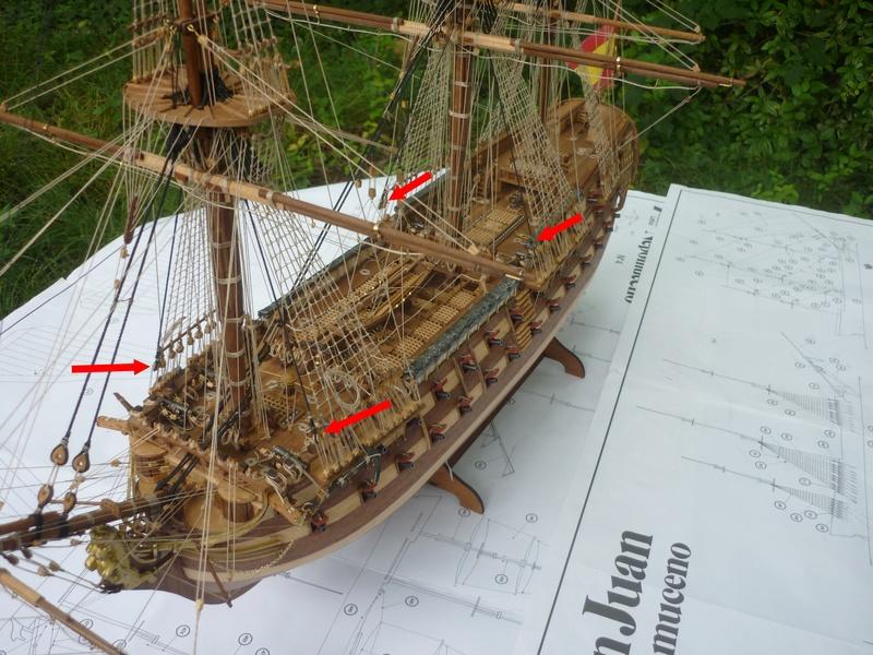 LA SANTA MARIA 1492. rénovation totale. - Page 2 P1060418