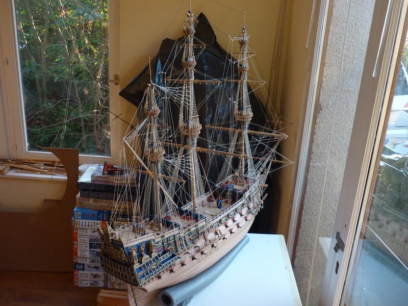 Sovereign Of The Seas XVII ème siècle de Sergal Mantua.  - Page 39 P1130985