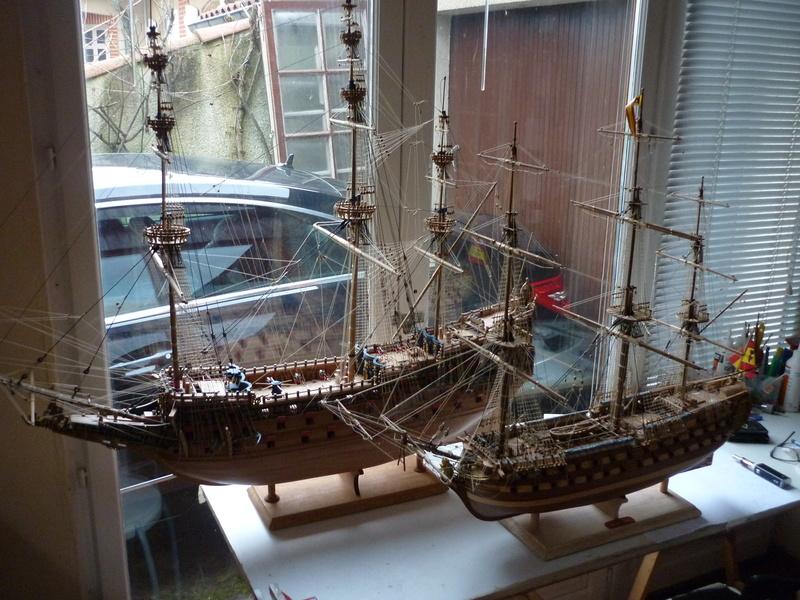 Sovereign Of The Seas XVII ème siècle de Sergal Mantua.  - Page 37 P1140334