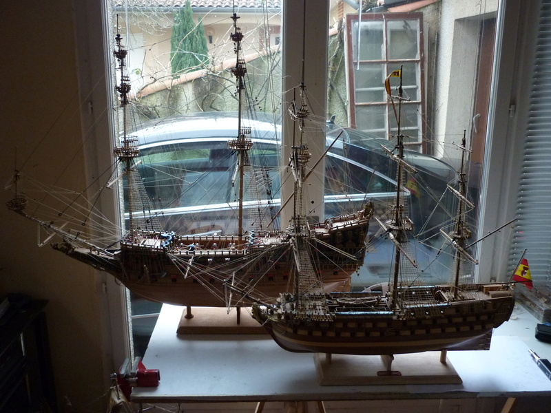 Sovereign Of The Seas XVII ème siècle de Sergal Mantua.  - Page 37 P1140335