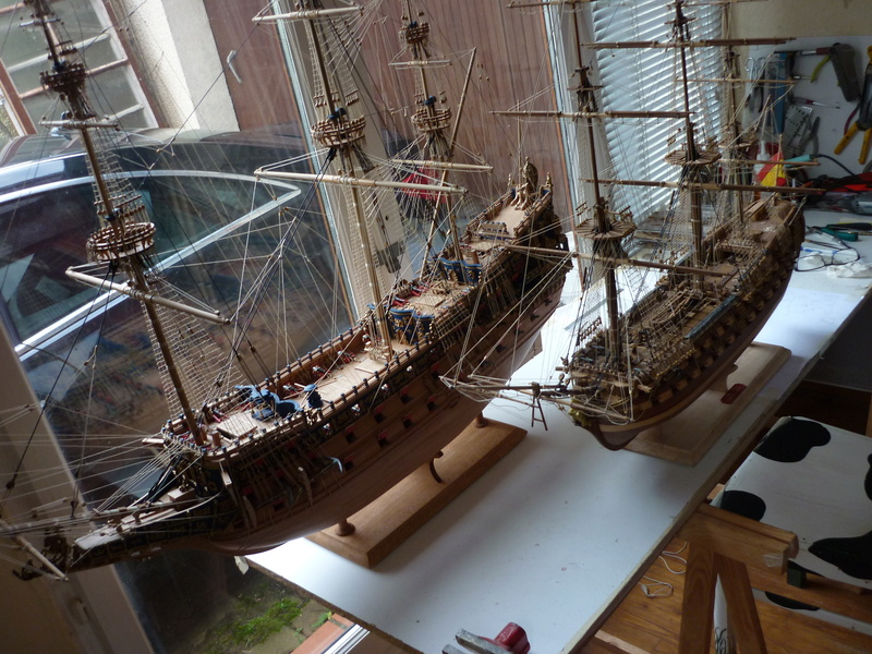 Sovereign Of The Seas XVII ème siècle de Sergal Mantua.  - Page 37 P1140337