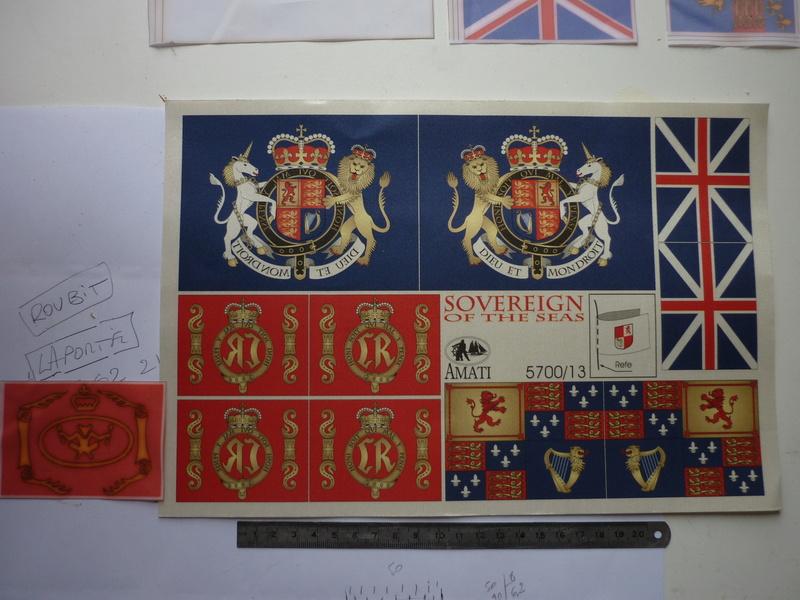 Sovereign Of The Seas XVII ème siècle de Sergal Mantua.  - Page 37 P1140424