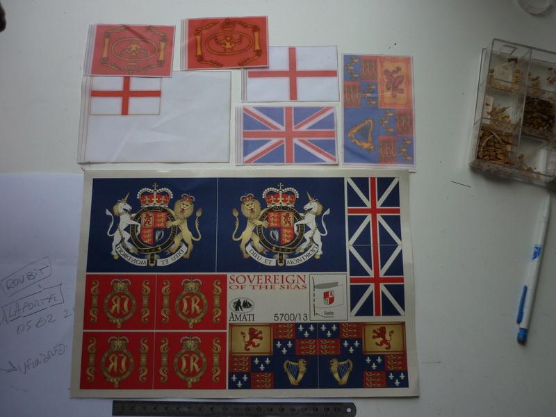 Sovereign Of The Seas XVII ème siècle de Sergal Mantua.  - Page 37 P1140427
