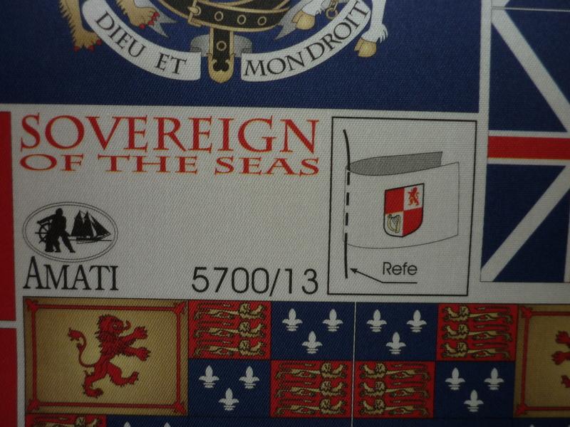 Sovereign Of The Seas XVII ème siècle de Sergal Mantua.  - Page 37 P1140515