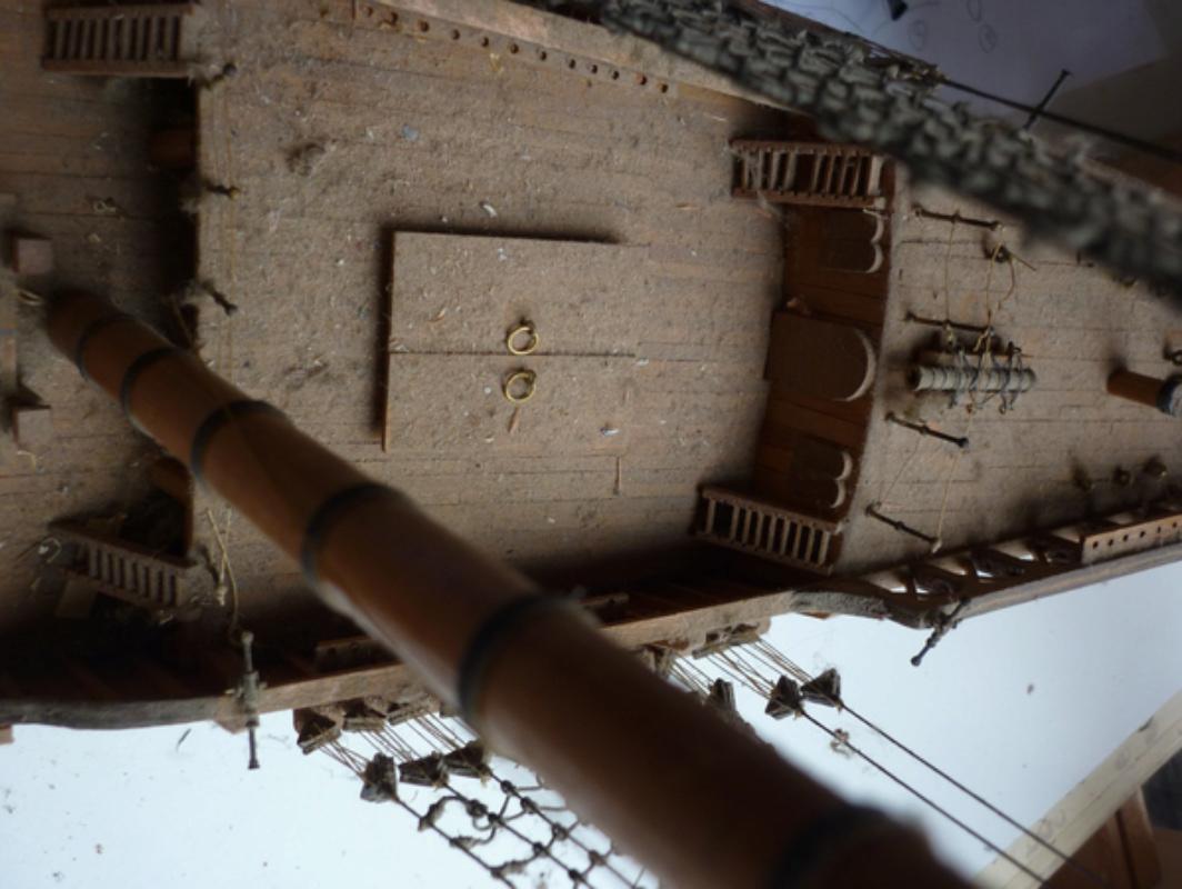 LA SANTA MARIA 1492. rénovation totale. P1140675