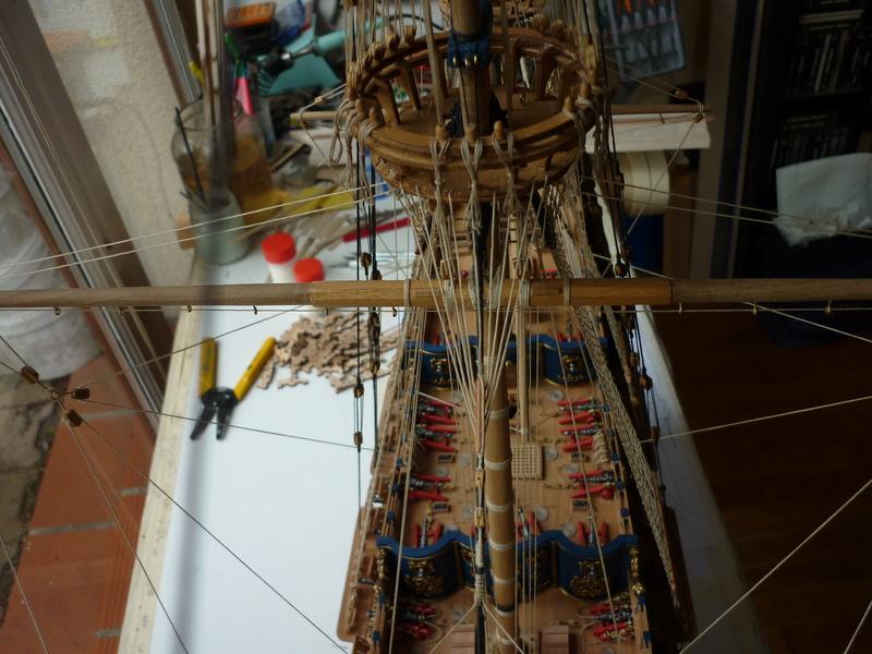 Sovereign Of The Seas XVII ème siècle de Sergal Mantua.  - Page 39 P1150914