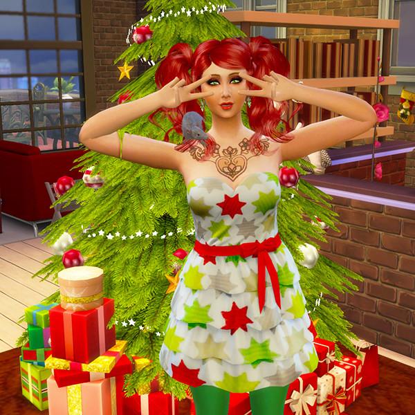 Aux Couleurs de Noël [Clos]  Simsel11