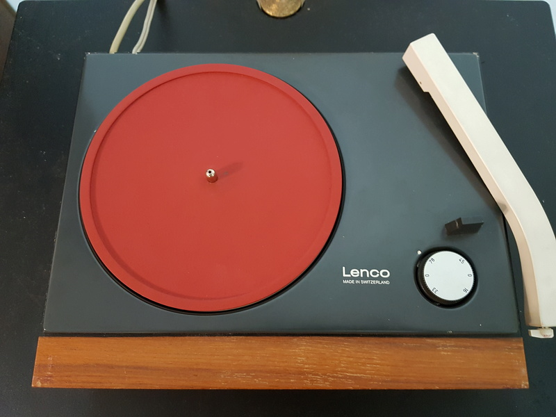 Lenco 7inch EP TurnTable with 4 speed control 20180510