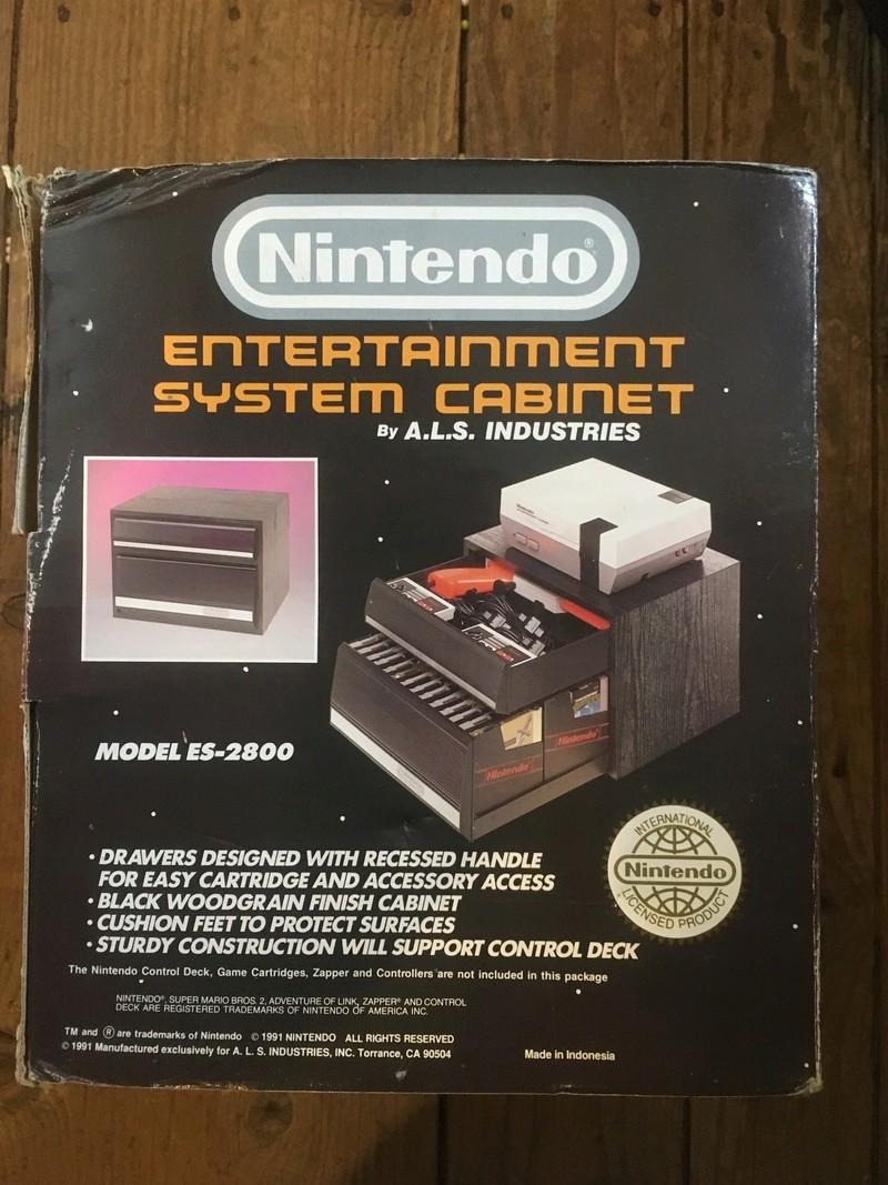Nintendo ES-2800 CASIER DE RANGEMENT by A.L.S. Industries / Réf.15011  Img_0710