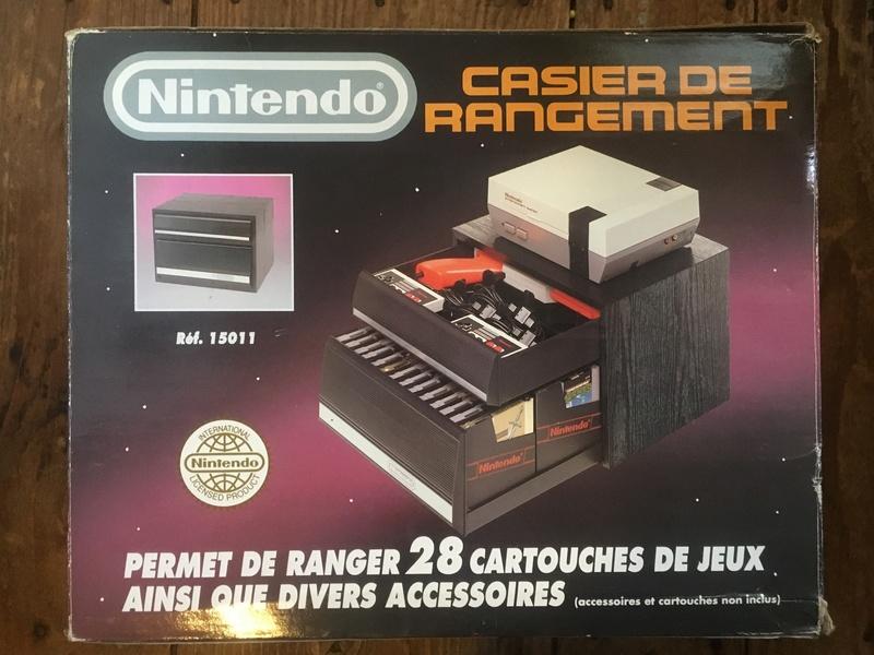 Nintendo ES-2800 CASIER DE RANGEMENT by A.L.S. Industries / Réf.15011  Img_2810
