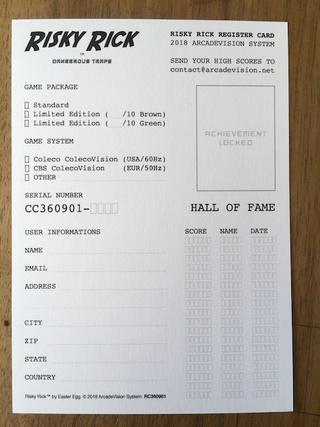 Risky Rick sur ColecoVision ! (25 Juin) - Page 2 Img_4113