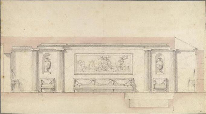 Le sculpteur Claude Michel, dit Clodion  (  1738 - 1814 ) 00-02510