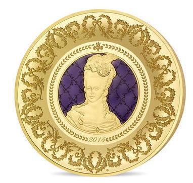 Pièces au portrait de Marie-Antoinette éditées à la Monnaie de Paris 10041210