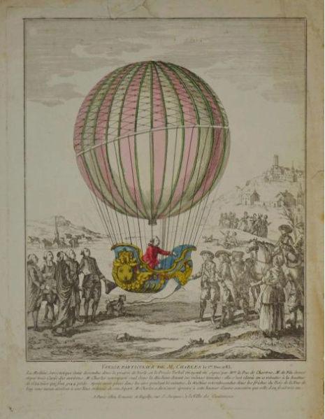 La conquête de l'espace au XVIIIe siècle, les premiers ballons et montgolfières !  - Page 7 1010