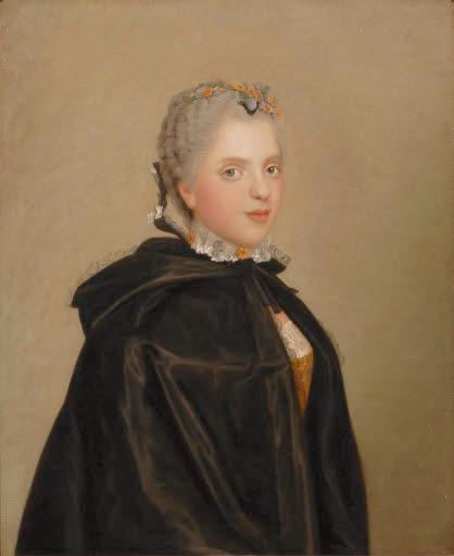 Portraits de famille de Louis XV sur une tabatière 106310