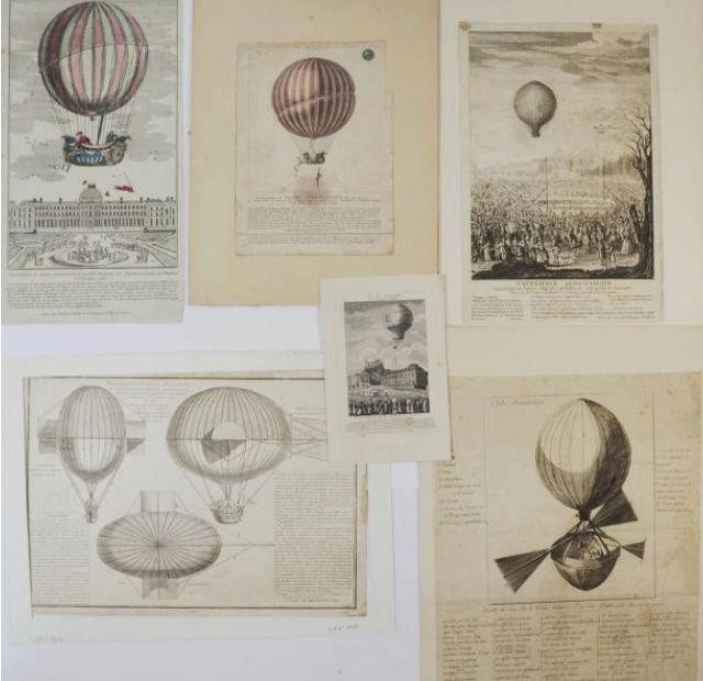 La conquête de l'espace au XVIIIe siècle, les premiers ballons et montgolfières !  - Page 7 1110