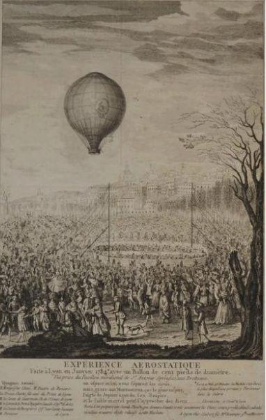 La conquête de l'espace au XVIIIe siècle, les premiers ballons et montgolfières !  - Page 7 1210