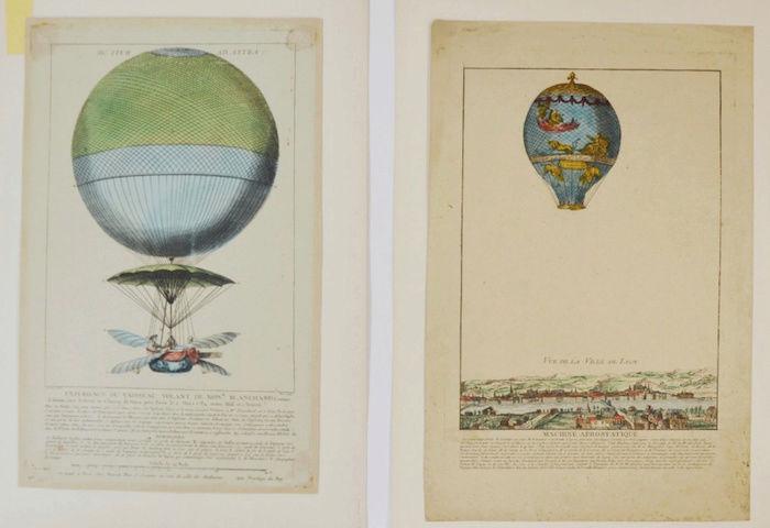La conquête de l'espace au XVIIIe siècle, les premiers ballons et montgolfières !  - Page 7 1310
