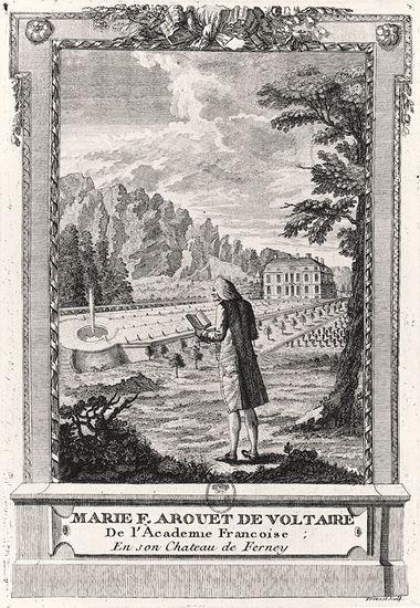Le château de Voltaire, à Ferney 13113210