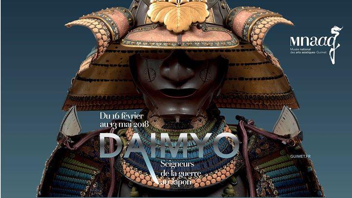 Daimyos, les seigneurs de la guerre au Japon - Exposition au Musée Guimet 1a543010