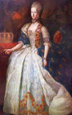Portraits de Marie-Antoinette par et d'après François-Hubert Drouais 1f957f10