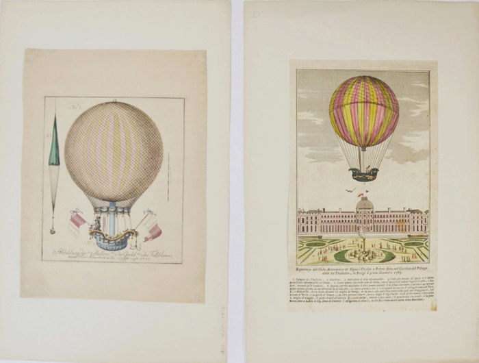 La conquête de l'espace au XVIIIe siècle, les premiers ballons et montgolfières !  - Page 7 412