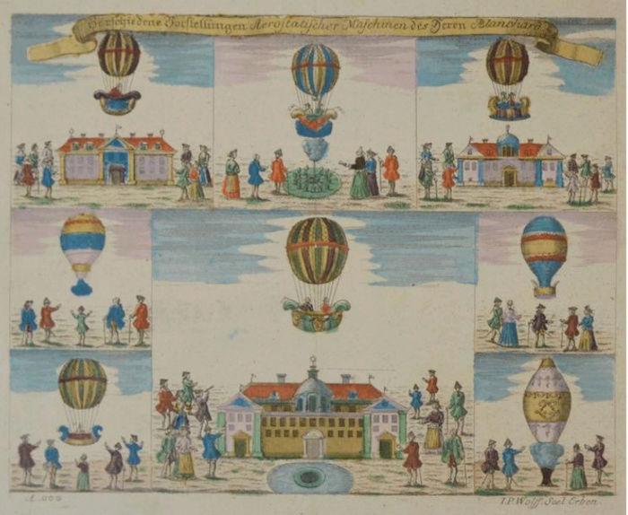 La conquête de l'espace au XVIIIe siècle, les premiers ballons et montgolfières !  - Page 7 444410