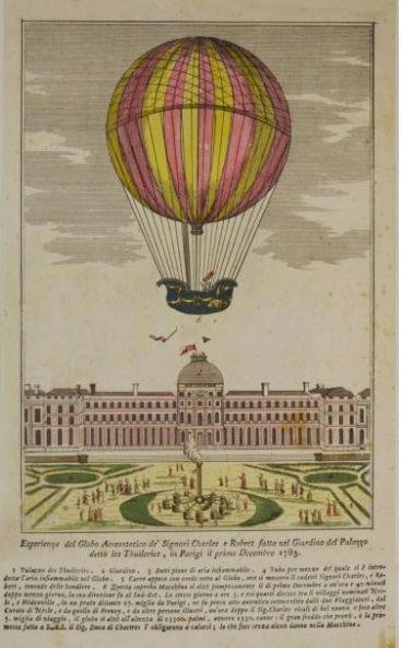 La conquête de l'espace au XVIIIe siècle, les premiers ballons et montgolfières !  - Page 7 511