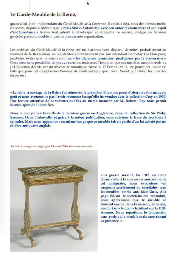 Le boudoir d'argent de Marie-Antoinette au château de Fontainebleau  611