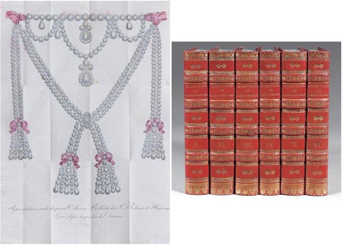 Le collier dit de la reine Marie-Antoinette (L'affaire du collier de la reine), et ses répliques 6810