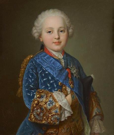 Portraits de famille de Louis XV sur une tabatière 69307110