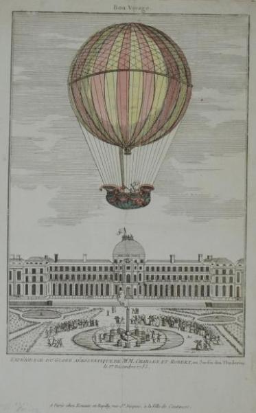 La conquête de l'espace au XVIIIe siècle, les premiers ballons et montgolfières !  - Page 7 710