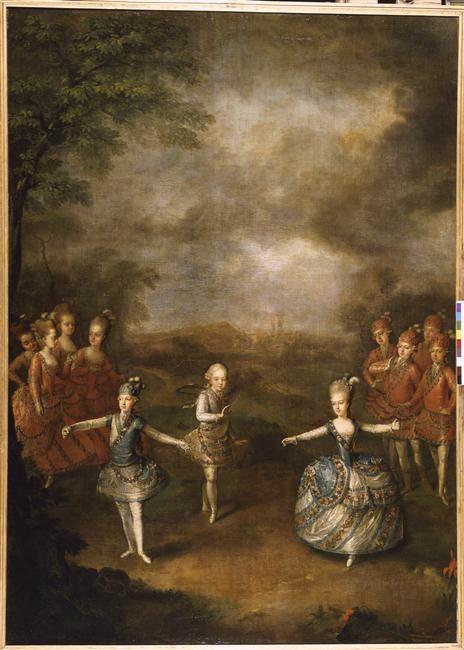 Portraits de Marie-Antoinette, enfant et jeune archiduchesse - Page 6 81-00010