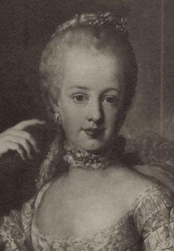 Portraits de l'archiduchesse Marie-Josèphe Archid15