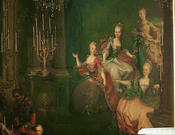 Portraits de Marie-Antoinette, enfant et jeune archiduchesse - Page 6 Arcidu10