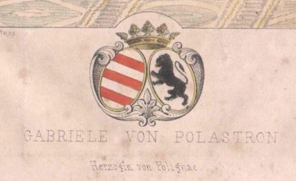 La duchesse Jules de Polignac - Page 15 Armes_10