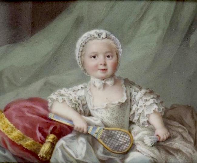 Portraits de famille de Louis XV sur une tabatière Barrie12