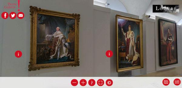 Exposition : Le théâtre du pouvoir. Petite Galerie du Louvre Captu141