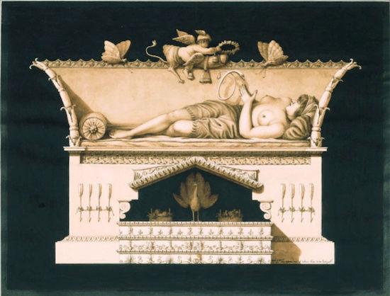 Exposition : Jean-Jacques Lequeu, bâtisseur de fantasmes. Petit Palais, Paris Captu208