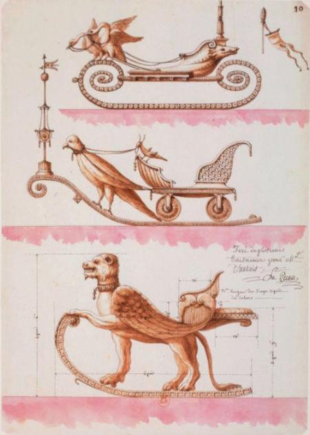 Exposition : Jean-Jacques Lequeu, bâtisseur de fantasmes. Petit Palais, Paris Captu214