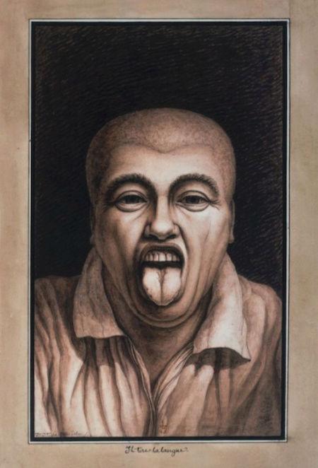 Exposition : Jean-Jacques Lequeu, bâtisseur de fantasmes. Petit Palais, Paris Captu215